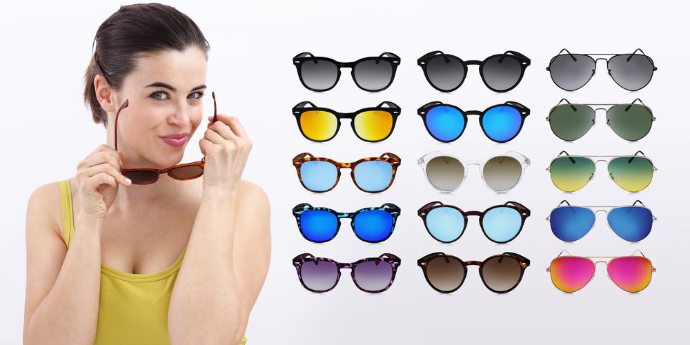 sluneční brýle_modely